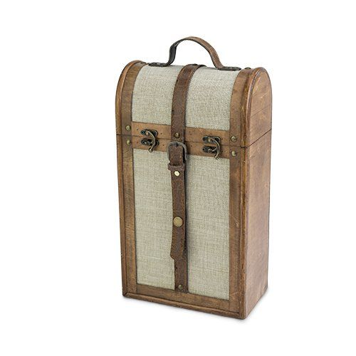 Bottle Vintage Trunk Wine Box by Twine®