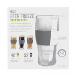 Beer FREEZE™ Cooling Cups (set of 2) by HOST®