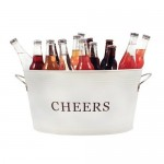 Cheers Galvanized Metal Tub by Twine®