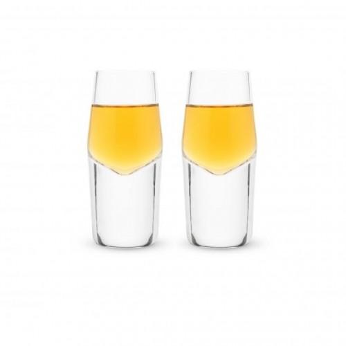 Crystal Heavyweight Shot Glasses by Viski®