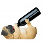 Pug Wine Bottle Holder by True